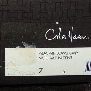 Cole Haan Shoes - NIB Cole Haan ADA NIKEAir Tan Patent Leather Pump